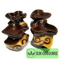 K021 Аромалампа в ассортименте 8см керамика
