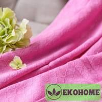 Плед50%бамбук+50%хлопок,розовый225х250см
