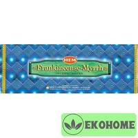 Благовония HEM 6-гр. Frank Incense Myrrh ЛАДАН - МИРРА