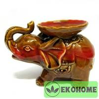 N314 Аромалампа Слон 9,5х14см керамика