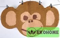 Коврик для детской 100% хлопок, 75 х 50 см, обезьянка