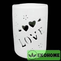N300-69 Аромалампа Love 12см керамика