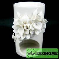 N300-42 Аромалампа Цветы 12,5см керамика