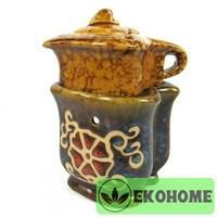 N268-1 Аромалампа Чайник 12см керамика