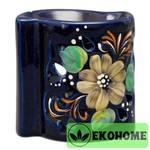 N507-047 Аромалампа ручная роспись 9см керамика
