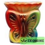 N507-017 Аромалампа ручная роспись 12см керамика