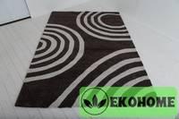 Ковер 100% индийская шерсть. 230 х 160 см. Основа - ковровое покрытие