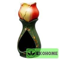 N507-039 Аромалампа ручная роспись 16см керамика