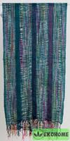 Шарф, 100% хлопок, 50х175см, плетеный
