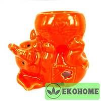 M060-4 Аромалампа Слоненок 9см керамика