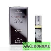 Арабские масляные духи Чёрный цвет чемпионов (Champion Black), 6 мл