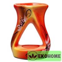 N507-061 Аромалампа ручная роспись 11см керамика