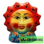 N507-044 Аромалампа ручная роспись 12см керамика