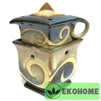 N268 Аромалампа Чайник 12,5х11см керамика