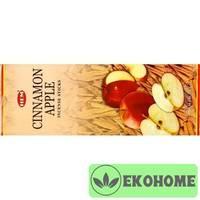 Благовония HEM 6-гр. Cinnamon Apple КОРИЦА - ЯБЛОКО