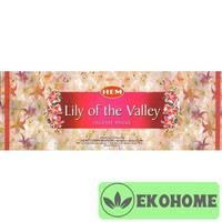 Благовония HEM 6-гр. Lily of the Valley ЛАНДЫШ