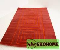 Ковер 100% индийская шерсть. 230 х 160 см. Основа - войлочное покрытие