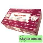 Благовония SATYA прямоуг. благовония Meditation МЕДИТАЦИЯ 15гр.