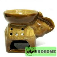 N292 Аромалампа Слон 8х11,5см керамика