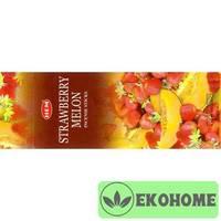 Благовония HEM 6-гр. Strawberry Melon КЛУБНИКА - ДЫНЯ