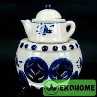 N300-60 Аромалампа Чайник 14см керамика