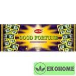 Благовония HEM 6-гр. Good fortune ФОРТУНА