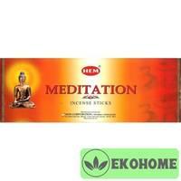 Благовония HEM 6-гр. Meditation МЕДИТАЦИЯ