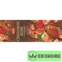 Благовония HEM 6-гр. Cinnamon Rose КОРИЦА - РОЗА