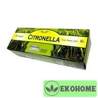 Благовония SARATHI 6-гр. Citronella Classic range ЦИТРОНЕЛЛА