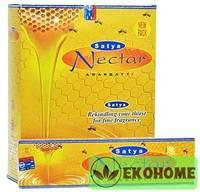 Благовония SATYA прямоуг. благовония Nectar НЕКТАР 45гр.